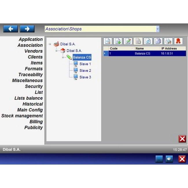 Dibal Scale SW-1100 Software CS серия