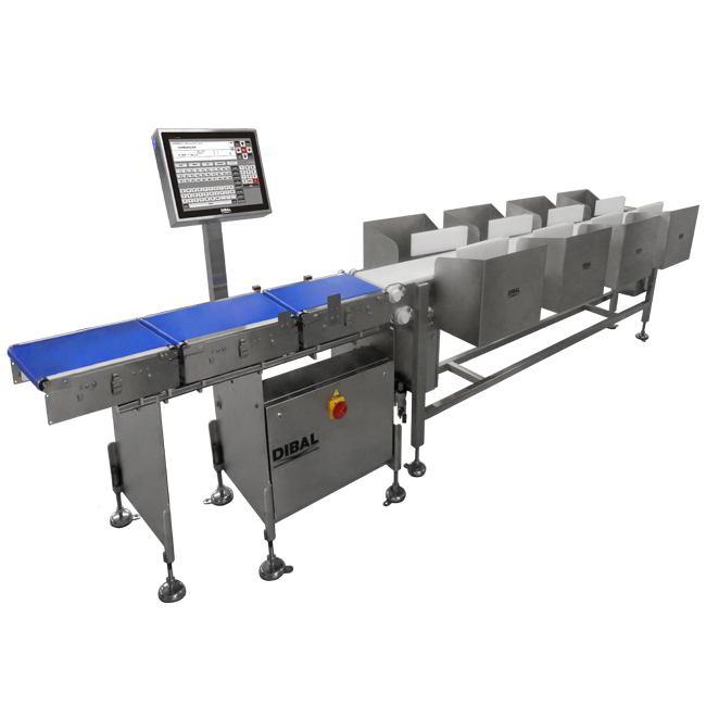 Автоматические весы с сортировкой Dibal GW-4000+