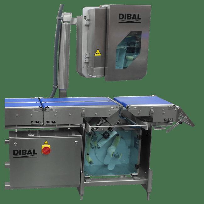 Автоматический этикетировщик Dibal LS-4000+ Испания2