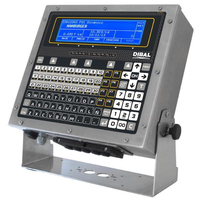 Многоканальный весовой терминал Dibal VD-3000