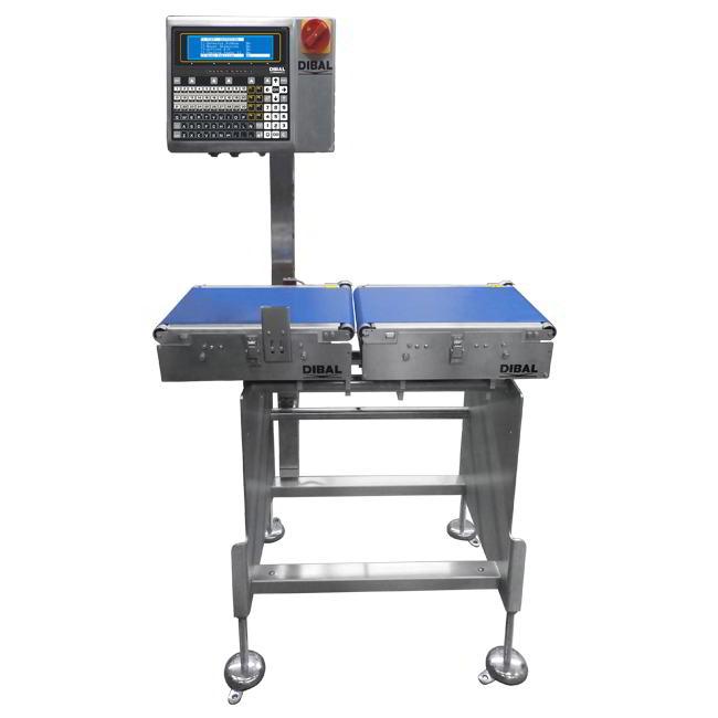 Динамические контрольные весы чеквейер Dibal W-4000