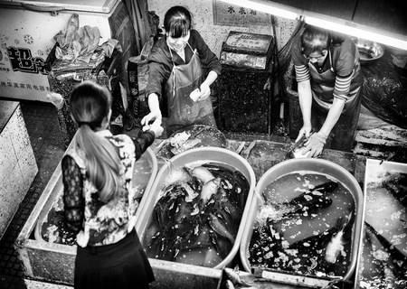 Компьютерные весы CS-1200 Hanging в рыбных отделах Купить Украина